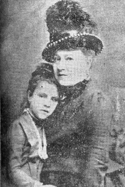Esposa - Adelia em 1872.